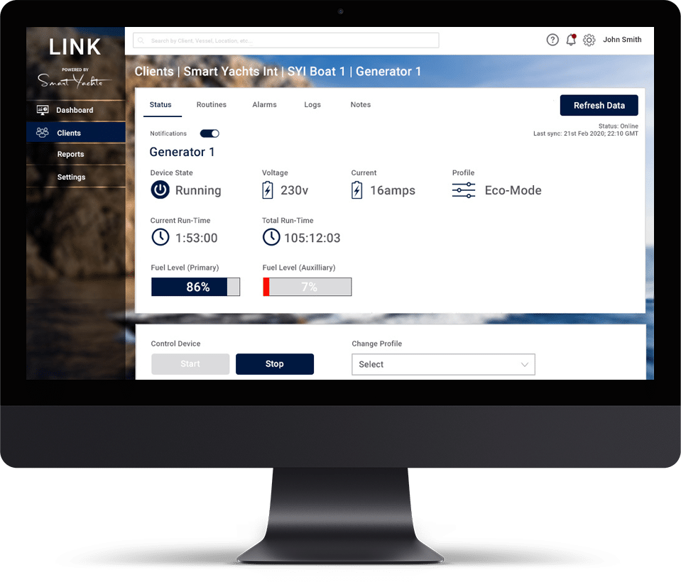 LINK Device View